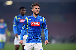 February 21, 2019 - Naples, Naples, Italy - Dries Mertens of SSC Napoli during the UEFA Europa League Round of 32 Second Leg match between SSC Napoli and FC Zurich at Stadio San Paolo Naples Italy on 21 February 2019. (Credit Image: © Franco Romano/NurPhoto via ZUMA Press)