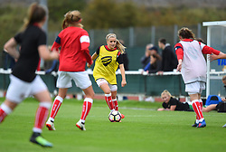 Olivia Fergusson of Bristol City Women warms-up ahead of WSL1 game against Yeovil Town Ladies - Mandatory by-line: Paul Knight/JMP - 30/09/2017 - FOOTBALL - Stoke Gifford Stadium - Bristol, England - Bristol City Women v Yeovil Town Ladies - FA Women's Super League 1