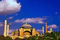 Hagia Sophia museum (Aya Sofya), Istanbul, Turkey