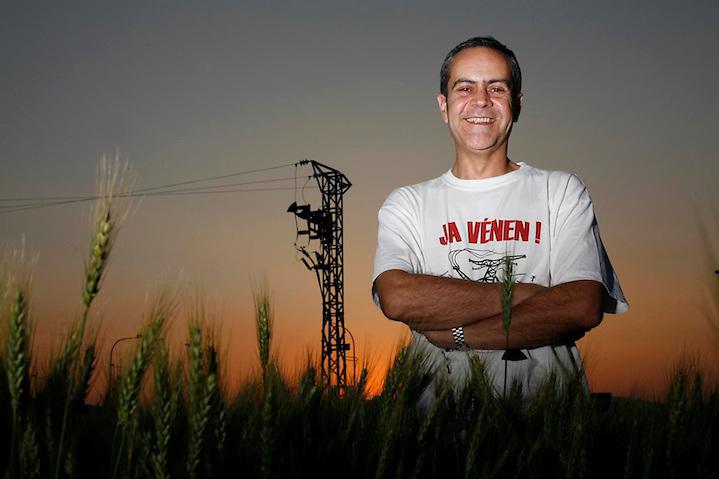 TEMA: XAVIER LLORENTE, PORTAVEU NO A LA MAT..LLOC: GIRONA..DATA: 10-05-07..FOTO: CLICK ART FOTO.