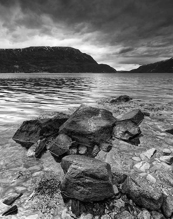 Norway - Sunndalsfjord BW