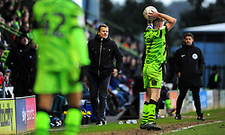 Forest Green Rovers manager Mark Cooper watches on- Mandatory by-line: Nizaam Jones/JMP - 08/02/2020 - FOOTBALL - New Lawn Stadium - Nailsworth, England - Forest Green Rovers v Walsall - Sky Bet League Two