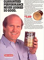 Terry Bradshaw for Conoco Oil