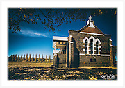 The Presbyterian Church at Matheson, New England region, on a sunny autumn morning [Matheson, NSW]<br />