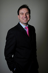 Portrait of Andrew Griffiths, Member of Parliament for Burton, January 12, 2010. Photo By Andrew Parsons / i-Images.
