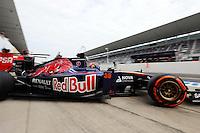 Max Verstappen (NLD) Scuderia Toro Rosso STR9 Test Driver.<br /> Japanese Grand Prix, Friday 3rd October 2014. Suzuka, Japan.