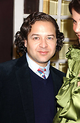 Fashion designer ALVIN VALLEY at the launch of 'Grand Classics:Films with Style' series in London hosted by Vivienne Westwood at The Electric Cinema, Portobello Road, London W11 on 20th March 2006.<br /><br />NON EXCLUSIVE - WORLD RIGHTS