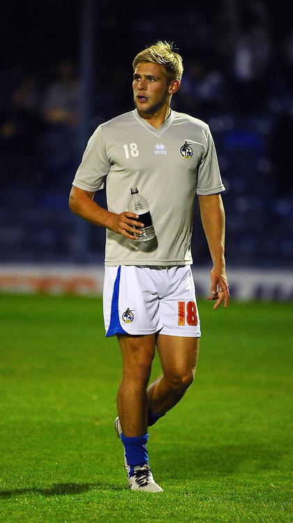 Bristol Rovers' Mitch Harding - Photo mandatory by-line: Seb Daly/JMP - Tel: Mobile: 07966 386802 27/09/2013 - SPORT - FOOTBALL - Roots Hall - Southend - Southend United V Bristol Rovers - Sky Bet League Two