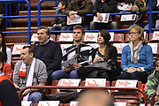 DESCRIZIONE : Milano Lega A 2012-13 EA7 Emporio Armani Milano Banco di Sardegna Sassari<br /> GIOCATORE : Niccolo Melli famiglia<br /> CATEGORIA : curiosita<br /> SQUADRA : EA7 Emporio Armani Milano <br /> EVENTO : Campionato Lega A 2012-2013 <br /> GARA :  EA7 Emporio Armani Milano Banco di Sardegna Sassari<br /> DATA : 02/12/2012<br /> SPORT : Pallacanestro <br /> AUTORE : Agenzia Ciamillo-Castoria/GiulioCiamillo<br /> Galleria : Lega Basket A 2012-2013  <br /> Fotonotizia : Milano Lega A 2012-13 EA7 Emporio Armani Milano Banco di Sardegna Sassari<br /> Predefinita :