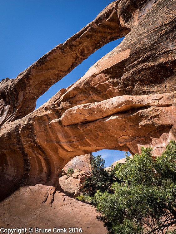 Double O Arch, Arches National Park.