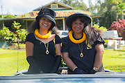 Queen Ka'ahumanu Society, North Kohala Kamehameha Day Celebration, Hawi, Island of Hawaii