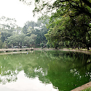 A small lake at the Hanoi Botanical Gardens (Vuon Bach Thao).