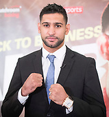 Amir Khan 10th January 2018