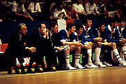 Europei Francia 1983 - Girone eliminatorio Limoges: Panchina Italia