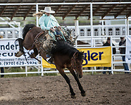 Iron Women Bronc Riding