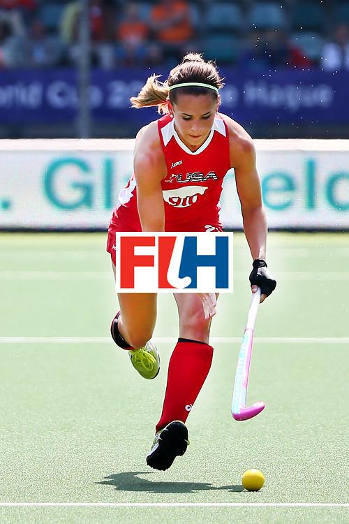 THE HAGUE - Rabobank Hockey World Cup 2014 - 2014-06-01 - WOMEN - England - USA - Paige Selenski<br /> Copyright: Willem Vernes