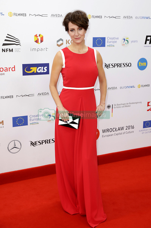 December 10, 2016 - Wroclaw, Lower Silesian, Deutschland - Maja Ostaszewska attends the 29th European Film Awards 2016 at the National Forum of Music on December 10,2016 in Wroclaw, Poland. (Credit Image: © Future-Image via ZUMA Press)