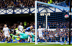 Everton's Steven Naismith scores the opening goal to make it 1-0 - Mandatory byline: Matt McNulty/JMP - 07966386802 - 12/09/2015 - FOOTBALL - Goodison Park -Everton,England - Everton v Chelsea - Barclays Premier League