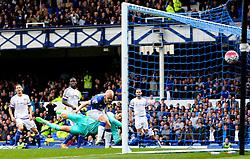 Everton's Steven Naismith scores the opening goal to make it 1-0 - Mandatory byline: Matt McNulty/JMP - 07966386802 - 12/09/2015 - FOOTBALL - Goodison Park -Everton,England - Everton v Chelsea - Barclays Premier League