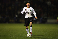 Photo: Rich Eaton.<br /> <br /> Crewe Alexander v Manchester United. Carling Cup. 25/10/2006. Kieran Lee who scored a last minute goal for Manchester United to give them a 2-1 victory