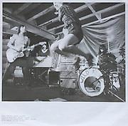 Wild Flag album sleeve photo, shot at the Doug Fir Lounge.