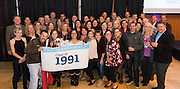 Alumni gather in the Hemmingson Center Ballroom Oct. 9 during reunion. (Photo by Edward Bell)