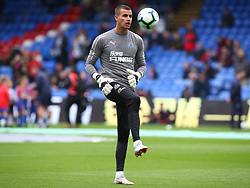 September 22, 2018 - London, England, United Kingdom - Newcastle United's Karl Darlow during the pre-match warm-up .during Premier League between Crystal Palace and Newcastle United  at Selhurst Park Stadium , London , England on 22 Sept 2018. (Credit Image: © Action Foto Sport/NurPhoto/ZUMA Press)