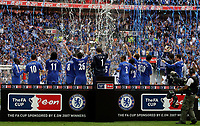 Photo: Paul Thomas.<br /> Chelsea v Manchester United. The FA Cup Final. 19/05/2007.<br /> <br /> Chelsea celebrate.