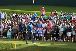 September 22, 2018 - Atlanta, Georgia, United States - Tiger Woods walks the 15th hole during third round of the 2018 TOUR Championship. (Credit Image: © Debby Wong/ZUMA Wire)