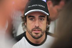 23.07.2015, Hungaroring, Budapest, HUN, FIA, Formel 1, Grand Prix von Ungarn, Vorberichte, im Bild Fernando Alonso (McLaren Honda) // during the preperation of the Hungarian Formula One Grand Prix at the Hungaroring in Budapest, Hungary on 2015/07/23. EXPA Pictures © 2015, PhotoCredit: EXPA/ Eibner-Pressefoto/ Bermel<br /> <br /> *****ATTENTION - OUT of GER*****