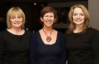 Geraldine Mullally, Dympna O'Byrne a, Conductor and Lucinda Hussey from Avaya Voice who  won at Choir Factor in the Radisson Blu.<br /> Choir Factor is a fundraiser for The Sccul Sanctuary, Therapeutic Support Centre in Kilcornan Clarenbrdge.<br /> <br />  Photo:Andrew Downes, xposure.