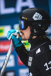 WILD Vic during FIS alpine snowboard world cup 2019/20 on 18th of January on Rogla Slovenia<br /> Photo by Matic Ritonja / Sportida