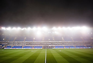 Fog over White Hart Lane before the Barclays Premier League match at White Hart Lane, London<br />