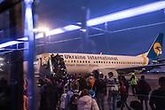 Last Flights Between Kiev and Moscow
