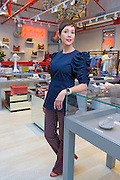 Kirna Zabete's founder Beth Buccini in her shop's new location in Bryn Mawr, Monday 30 Jan. 2017. Photograph by Jim Graham