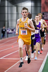 ECAC/IC4A Track and Field Indoor Championships<br /> 3000 meters, Iona, Jack O'Leary