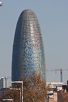 Torre Agbar Barcelona Photography shoot in 2008 by Christopher Holt