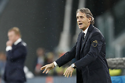 coach Gian Roberto Mancini of Italy during the International friendly match between Italy and The Netherlands at Allianz Stadium on June 04, 2018 in Turin, Italy