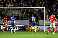 Ben Alnwick of Peterborough United watches on as Jason Demetriou of Walsall (not in picture) scores the opening goal - Mandatory byline: Joe Dent/JMP - 07966 386802 - 28/12/2015 - FOOTBALL - Banks' Stadium - Walsall, England - Walsall v Peterborough United - Sky Bet League One