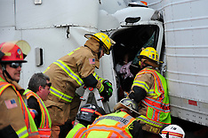 Upper Saucon Truck Crash 2-14-14