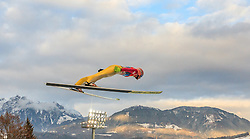 06.01.2016, Paul Ausserleitner Schanze, Bischofshofen, AUT, FIS Weltcup Ski Sprung, Vierschanzentournee, Bischofshofen, Probedurchgang, im Bild Dawid Kubacki (POL) // Dawid Kubacki of Poland during his trial jump of the Four Hills Tournament of FIS Ski Jumping World Cup at the Paul Ausserleitner Schanze in Bischofshofen, Austria on 2016/01/06. EXPA Pictures © 2016, PhotoCredit: EXPA/ JFK