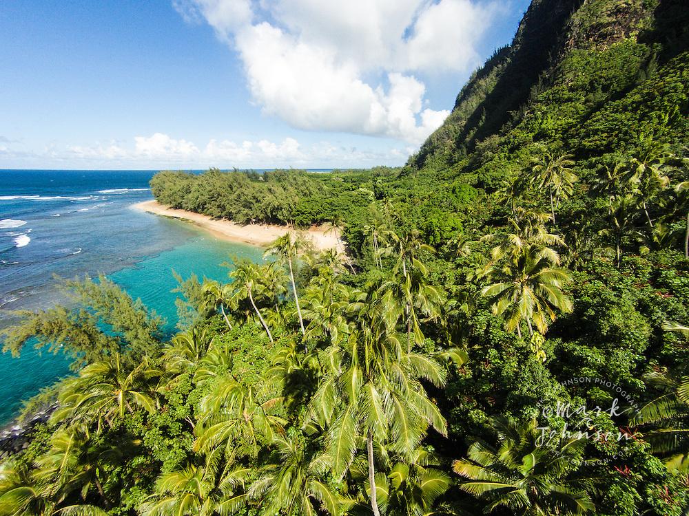 Ke'e Beach, Na Pali Coast, Kauai, Hawaii, USA