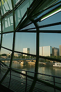 France. Paris 13th district, Les Docks cite de la mode et du design on the Seine river
