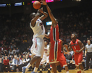 """Ole MIss forward Reginald Buckner (2)  is defended by Georgia's Trey Tompkins (33) at the C.M. """"Tad"""" Smith Coliseum in Oxford, Miss. on Saturday, January 15, 2011. Georgia won 98-76.  (AP Photo/Oxford Eagle, Bruce Newman)"""
