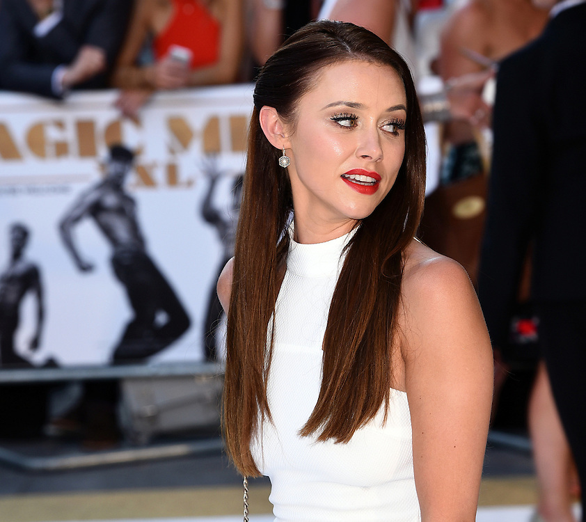 Una Foden attends Magic Mike XXL European Premiere at Vue West End, Leicester Square, London  on Tuesday 30 June 2015