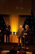 Sting, Sir Bob Geldof and Midge Ure. 50th Ivor Novello Awards, Grosvenor House. London. 26 may 2005. ONE TIME USE ONLY - DO NOT ARCHIVE  © Copyright Photograph by Dafydd Jones 66 Stockwell Park Rd. London SW9 0DA Tel 020 7733 0108 www.dafjones.com
