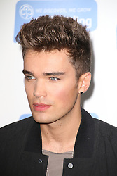 © Licensed to London News Pictures. 04/10/2014, UK. Union J; Josh Cuthbert, Girlguiding BIG GIG, SSE Arena Wembley, London UK, 04 October 2014. Photo credit : Richard Goldschmidt/Piqtured/LNP