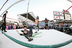 September 19, 2018 - San Jose, California, United States - San Jose, CA - Wednesday September 19, 2018: Mexican Heritage Night, Lucha libre prior to a Major League Soccer (MLS) match between the San Jose Earthquakes and Atlanta United FC at Avaya Stadium. (Credit Image: © Bob Drebin/ISIPhotos via ZUMA Wire)