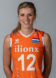 10-05-2018 NED: Team shoot Dutch volleyball team women, Arnhem<br /> Britt Bongaerts #12 of Netherlands