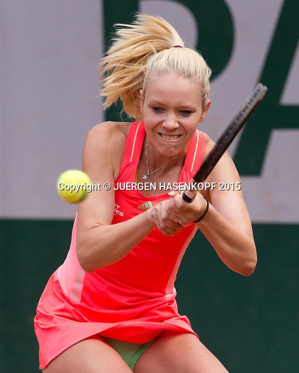 Katharina Hobgarski (GER)<br /> <br /> Tennis - French Open 2015 - Grand Slam ITF / ATP / WTA -  Roland Garros - Paris -  - France  - 1 June 2015.